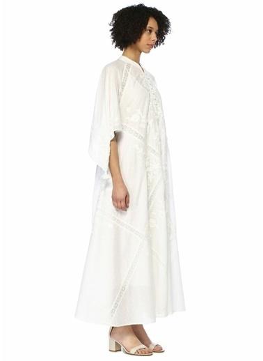 Tory Burch Elbise Beyaz